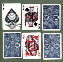 Vintage Magic playing  cards De Land's marked deck